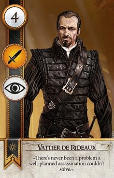 Vattier de Rideaux (Gwent Card) - The Witcher 3: Wild Hunt