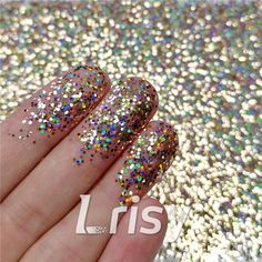 These cosmetic grade holographic glitter are ultra-thin and have a chameleon like effect in that their colors seem to change as you look at them from at different angles and in background color. Selling bulk poly glitter, and offer wholesale. Glitter Slime, Holographic Glitter, Loose Glitter, Gold Glitter, Cosmetic Grade Glitter, Hair Decorations, Hexagon Shape, Nail Arts, Resin Art