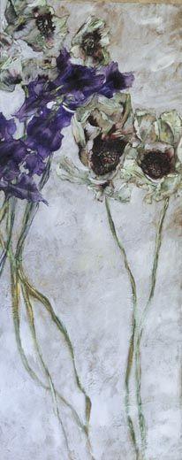 Huile sur Toile - 160 cm x 65 cm, Claire Basler