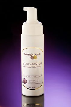 Foaming Cleanser:  This gentle all over cleanser washes away stress, dirt and grime, leaving skin feeling clean and refreshed.
