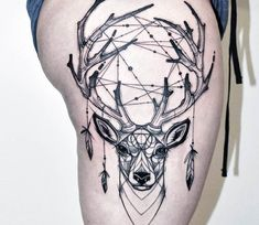 Dreamcatcher tattoo by Kati Berinkey
