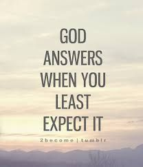 It Never Fails That He Fulfills His Plan For You When You Very Least Expect It. His Timing Is Always PERFECT. Even When It's Unexpected ♡