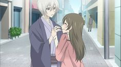 Tomoe & Nanami Momozono from Kamisama Kiss - I can't believe I didn't have these two on here sooner! I'm obsessed with the show & LOVE watching their relationship develop! Kamisama Kiss, All Anime, Anime Love, Tomoe And Nanami, Whiskers On Kittens, Manga Love, My Side, Anime Shows, Anime Comics