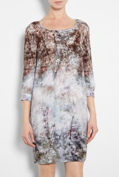 Bramble Print Tunic Dress - Lyst