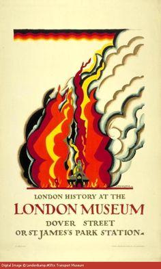 London Transport poster   Designed by Edward McKnight Kauffer