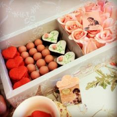 Madame Sucre's Valentine Day Mix. Gift Box