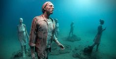 Tour Europe's First Underwater Museum Before It Opens to the Public Photos   Architectural Digest