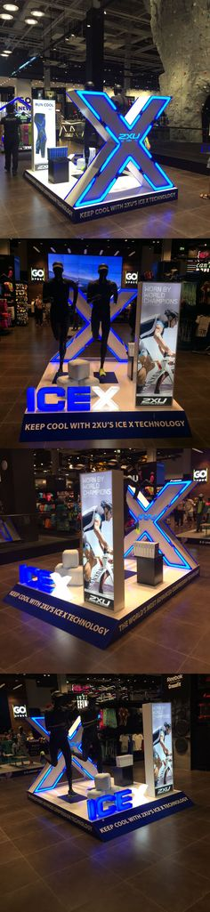 2XU ICEX podium for October 2016 at Go Sport Mall of the Emirates!