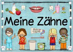 """Themenplakat """"Meine Zähne""""     Das längst versprochene Plakat  zum Thema """"Meine Zähne"""" ist fertig. Es schlummerte halb fertig auf meiner F..."""