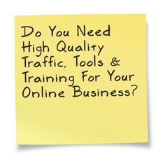 Do You Need High Quality Traffic, Tools & Training For Your Online Business?  https://r1.trafficauthority.net/mrhomebiz