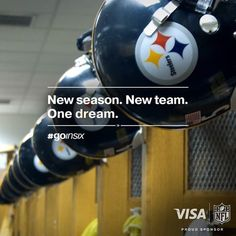Pittsburgh Steelers NFL BlackandGold Est1933 AFC /AFCNorth...READY FOR THE NEW SEASON GOING IN 6 COMING OUT 7