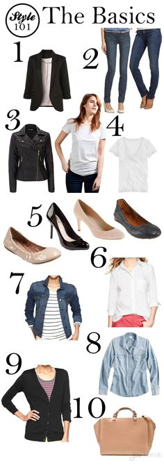 Style 101: The Basics All of these pieces are in my closet!  Now I can consign the rest!  Yay!!