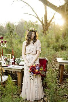 Adrianna Papell wedding dress idea; photo: Andie Freeman