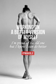 Working On A Better Version Of Myself | Fitness Made Simple