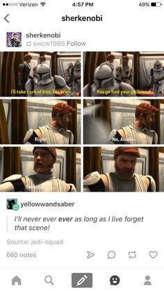 I thought about this a lot when I first saw this scene. But then all my happines… - Star Wars Dark Maul, Star Wars Rebels, Star Wars Clone Wars, Darth Maul Clone Wars, Age Of Ultron, Daniel Radcliffe, Marvel, Harry Und Ginny, Funny Videos