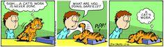 Garfield philosophy comic strip