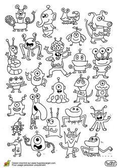 Plein D Extraterrestres, page 13 sur 18 sur HugoLescargot.com