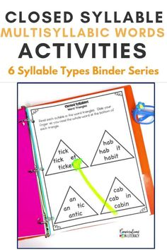No Prep-Print & Go! Decoding Multisyllabic Words doesn't have to be tricky anymore! Strategic activities teachers can differentiate for the needs of students. Perfect for quick word work during guided reading, reading interventions & for literacy centers! #phonics #fluency #decoding #literacycenters #guidedreading #elementary #classroom #readinginterventions #RTI #wordwork #backtoschool 1st grade, 2nd grade, 3rd grade