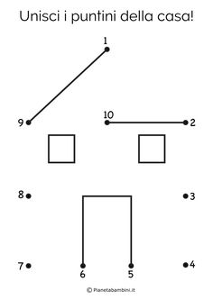 Preschool Number Worksheets, Kindergarten Math Worksheets, Preschool Learning Activities, Toddler Activities, Preschool Activities, Teaching Kids, Kids Learning, Grande Section, Alphabet For Kids