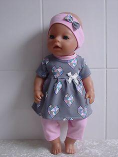 Puppenkleider 4 Set Baby Born neu Babypuppen & Zubehör 8