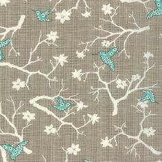 Bluebird Park by Kate and Birdie for Moda Fabrics, Hummingbird Lamp Post 1/2 yard total