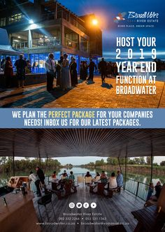 Host your 2019 YEAR END FUNCTION at broadwater 🎉🕺🏾 we plan the perfect package for your companies needs! Inbox us for our latest packages.  #accommodation #placestostay #camping #nature #travel #adventure #outdoors #camp #love #wanderlust #landscape #photooftheday #sunset #roadtrip #fishing #sky #naturelovers #restaurant #weddings #broadwater #guesthouse #trip #local #wildlife #gamedrive #goodtimes #pool #river #riverview
