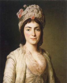 Alexander Roslin  Zoie Ghika,modavisk princess