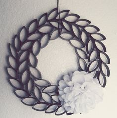TP Roll Wreath « Somewhere In The Middle