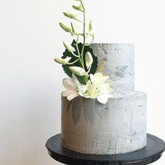 Concrete Cake Inspo