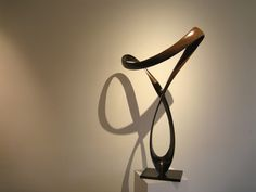 'Insouciante' (edition 4/8) by Edouard Hervé Metal Art, Wood Art, French Sculptor, John Adams, Herve, Sculptures For Sale, French Artists, New Words, Illusions