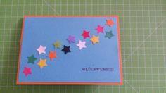 Glückwunschkarte Sterne