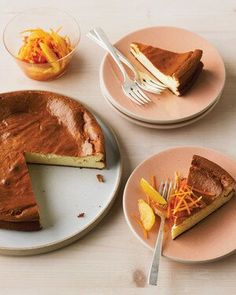 Just Desserts, Delicious Desserts, Dessert Recipes, Yummy Food, Easter Desserts, Spring Desserts, Dessert Ideas, Ricotta Cheesecake, Fluffy Cheesecake