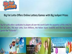 Every common people want to change their destiny and status by winning the big fat Euro Millions.