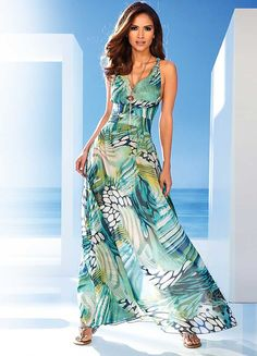 HeinePrintedMaxiDress