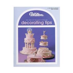 Shop a variety of piping bags, candy bags, Wilton decorating tips and other cake decorating supplies. Wilton Decorating Tips, Cake Decorating Books, Cake Decorating Supplies, Baking Supplies, Decorating Ideas, Frosting Techniques, Frosting Tips, Cupcakes, Cupcake Cakes