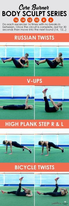 This 15 minute ab workout burns your abs like crazy! Such a great way to tone up for summer!