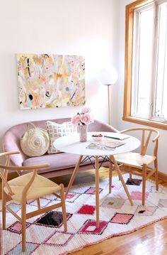 Soft pastel boho style - Baba Souk