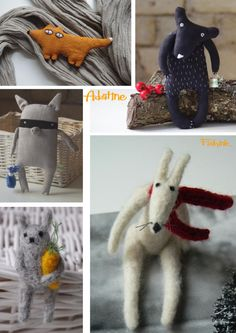 Adatinemeans 'pincushion' in Lithuanian, which is this companies native language. They createsuch beautiful and sparky characters that I thought I'd share them with you. Natura…