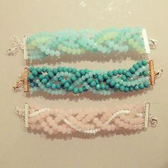 DIY Bracelet by CatCatBlog. #braceletsideas