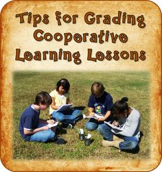 When should you grade cooperative learning lessons, and how can you grade them fairly? This blog post shares tips and a freebie for grading team projects.
