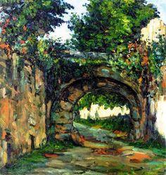 """Paul Cézanne (1839-1906) """" The Vault."""""""