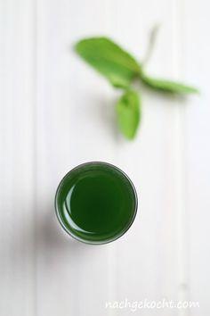 Minzsirup - natürlich grün, ohne Farbstoff