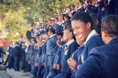 School visit at Elandspoort High School