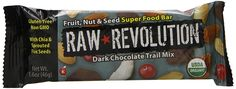 Raw Revolution Fruit, Nut and Seed Superfood Bars, Dark Chocolate, 1.6 Ounce Bar, 12 Count >>> Click on the image for additional details.