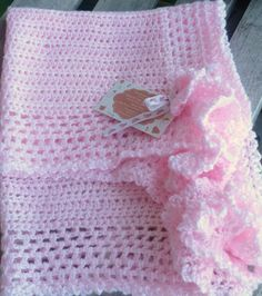 Crocheted Spring baby blankets!