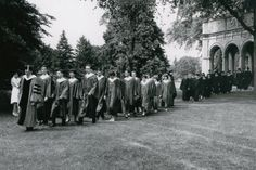 Commencement, 1963, (Planting Fields, Oyster Bay, NY/Stony Brook University)