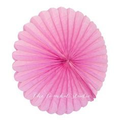 Light Pink Tissue Paper Medallions