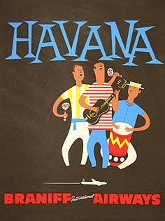 louxosenjoyables:  atherdiscretion:  ♥Braniff International Airways - Havana