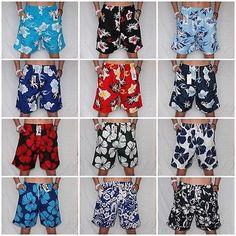New flower ##shorts mens boys lightweight hawaiian #beachwear swim #short holiday,  View more on the LINK: http://www.zeppy.io/product/gb/2/171281710768/