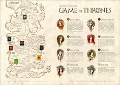 Infográfico - As Nobres Mulheres de Game of Thrones - Bruna Bilésimo - SATC